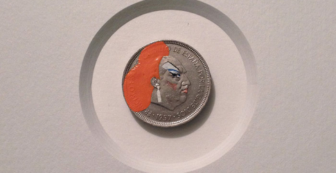 Artist Andre Levy creates brilliant coin art project: Tales You Lose