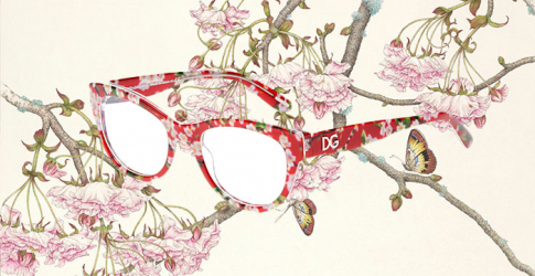 Buro Loves: Dolce & Gabbana's floral optical collection