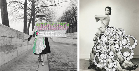 The 'Archi Dior' jewellery collection re-imagined over archive photos