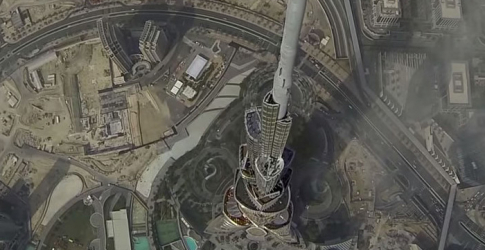 Watch now: Flying drone captures stunning footage of Dubai