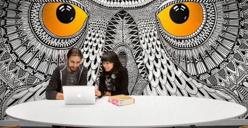 HootSuite shows off its office interior in Vancouver