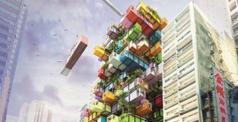 The Hive Inn: A hotel made from cargo containers