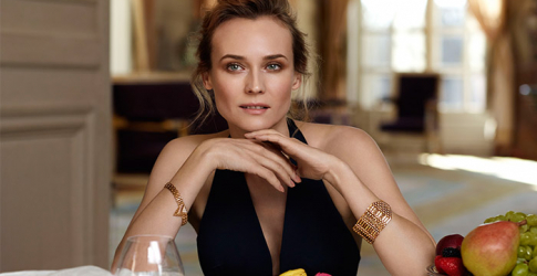 Diane Kruger discusses Italian dreams with Joshua Jackson, the film industry, red carpet and more