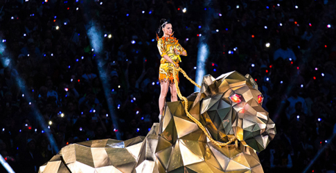 Jeremy Scott designs Katy Perry's Super Bowl costume
