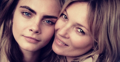 Kate Moss and Cara Delevingne unite for Burberry