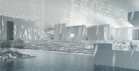 First gallery finished at The Louvre Abu Dhabi
