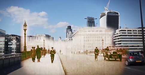 Watch now: A journey through London from 1924 to 2014