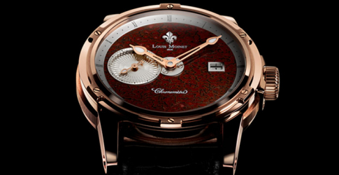 Louis Moinet unveils rare luxury watch crafted from dinosaur bone