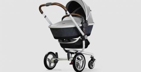 Silver Cross and Aston Martin collaborate on a new luxury baby pram