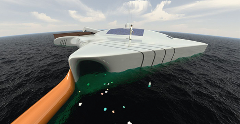 Take a look at the new eco machine that is set to clean up the Earth's oceans