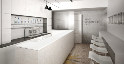 The new Peggy Guggenheim Café in Venice