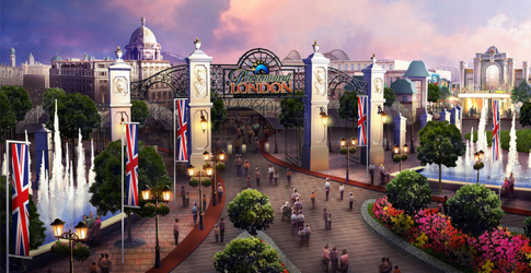 Paramount announce £2 billion UK theme park to rival Disneyland