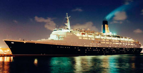 "Outrage as photos reveal that the iconic QE2 has been left ""to rot in obscurity"" in Dubai port"