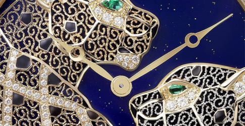 Cartier revives the ancient art of filigree with its new timepiece