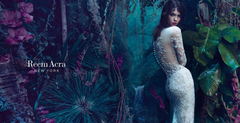 Fairytale fantasy: Isabelle Nicolay enchants in the new Reem Acra campaign for AW15