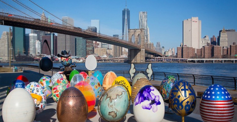 The hunt continues in New York for Fabergé's designer Easter eggs