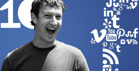 Facebook celebrate 10 year anniversary today