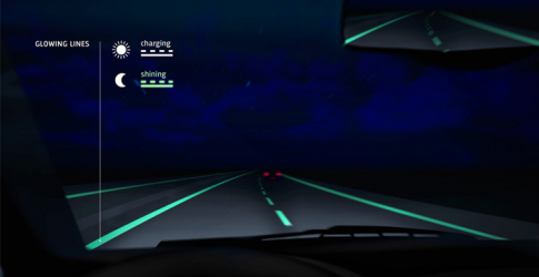 Glow in the dark roads tested in the Netherlands