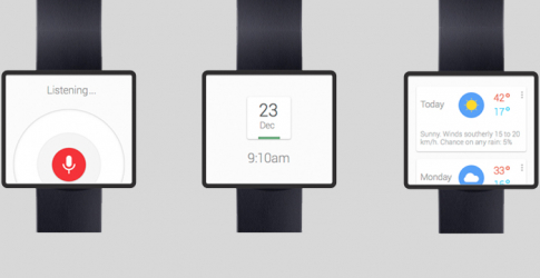 Google smartwatch in the works?