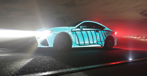 Getting pulses racing: Lexus creates car with a heartbeat