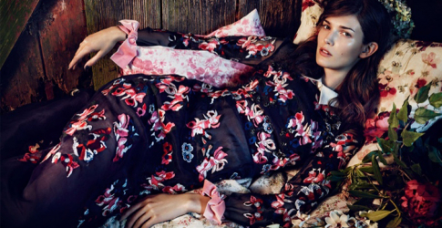 Net-a-Porter's new romantic bohemian shoot for The Edit