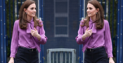 So, a former Fashion Editor is now Kate Middleton's stylist