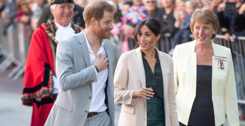The Duke and Duchess of Sussex land in, well, Sussex for a tour