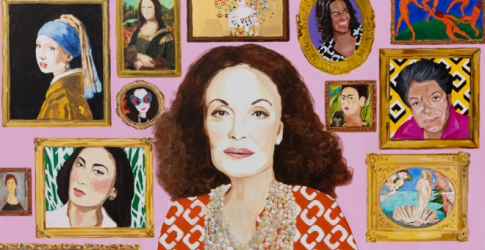 Diane von Furstenberg will present a powerful art collection for International Women's Day