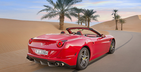 Ferrari's Deserto Rosso video: An ode to the Middle East