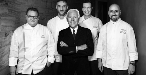 Armani takes its culinary success on a world journey, Dubai included