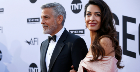 Amal Clooney's first public speech about George Clooney made him (and the rest of us) cry