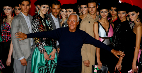This is where Giorgio Armani is taking 'One Night Only' to next...