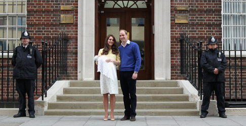 The Duke and Duchess of Cambridge announce the name of their new daughter...