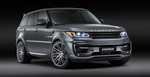 Brabus takes on Range Rover Sport with Startech edition