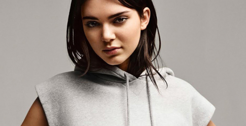 Kendall Jenner is revealed as the new face of Calvin Klein