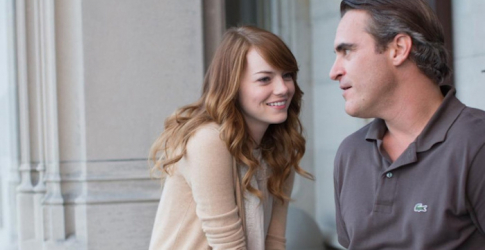 First look: Emma Stone and Joaquin Phoenix in new Woody Allen film