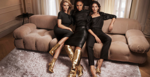 Jimmy Choo taps Rosie Huntington-Whiteley, Joan Smalls and Lily Aldridge for new campaign