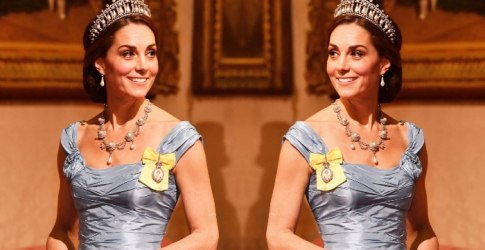 Kate Middleton was basically Cinderella at last night's state dinner
