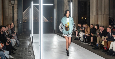 Nicolas Ghesqiuère's S/S '19 collection for Louis Vuitton was out of this world