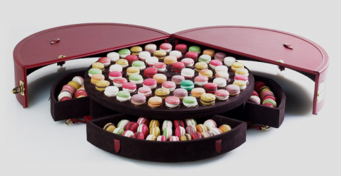 Object of desire: the macaroon suitcase by Moynat