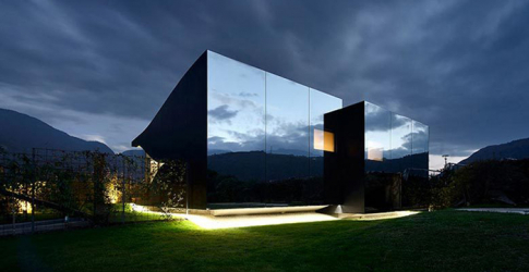 First look: Peter Pichler's 'Mirror house'