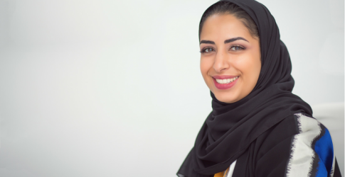 """When millennials are inspired, we can move mountains\"" - Noura Al Akeel"