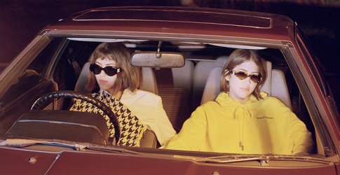 Sama and Haya Khadra front Off-White's new capsule collection with Sunglass Hut