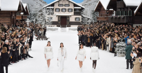 Chanel muses Penelope Cruz and Cara Delevingne walk Karl Lagerfeld's last show