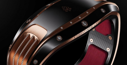 Pininfarina and Christophe & Co present new uber-luxe wearable tech bracelet