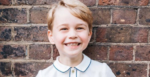 Kensington Palace shares new photo of Prince George to celebrate his fifth birthday