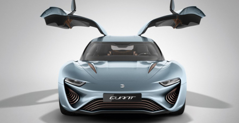The salt water-powered Quant e-Sportlimousine concept
