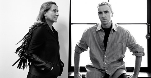 It's official: Raf Simons and Miuccia Prada join forces