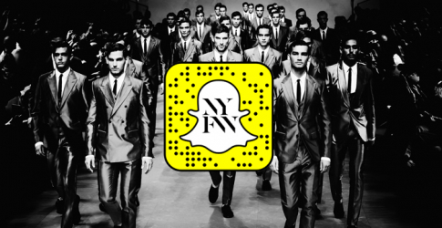 Live feed: Snapchat to take over Men's New York Fashion Week