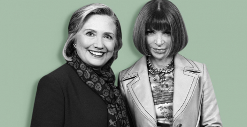 In Vogue: Anna Wintour attends fashion fundraiser for Hillary Clinton